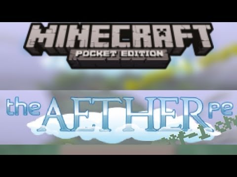 THE AETHER IN MCPE!! Texture Pack Review