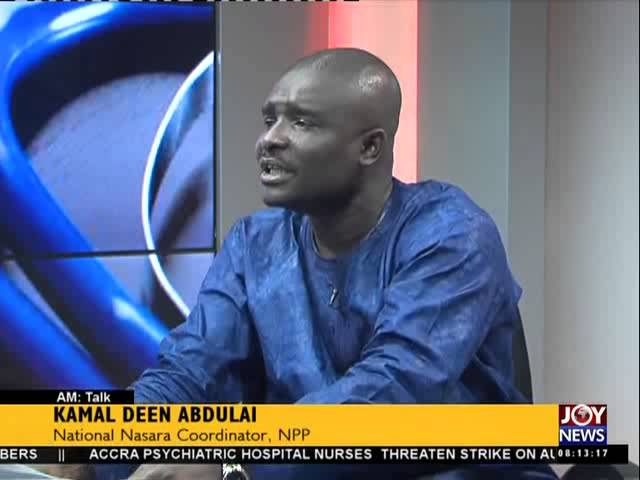 GMA Strike - AM Talk on Joy News (31-7-15)