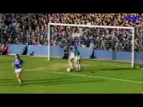 Everton 5-0 Manchester United (1984/85 Division One)