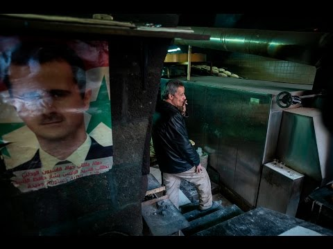 Life goes on in Damascus: 'We cannot give up and lose our hope'