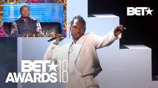 Majah Hype Gives Honest AF Reaction To Miguel's Sky Walker Performance! | BET Awards  2018