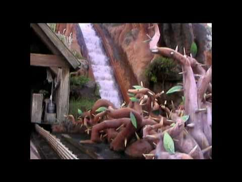 Log Flume Disney Log Flume at Disneyworld