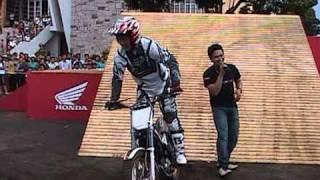 Bieu dien xe motor dia hinh cua HonDa tại Pleiku