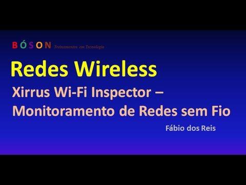 Xirrus Wi Fi Inspector - Monitoramento de Redes sem fio (Wireless)