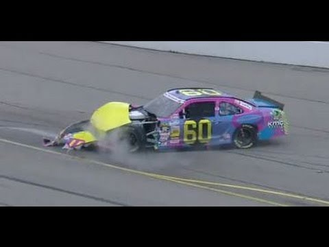 Huge wreck with Travis Pastrana at Iowa 2013