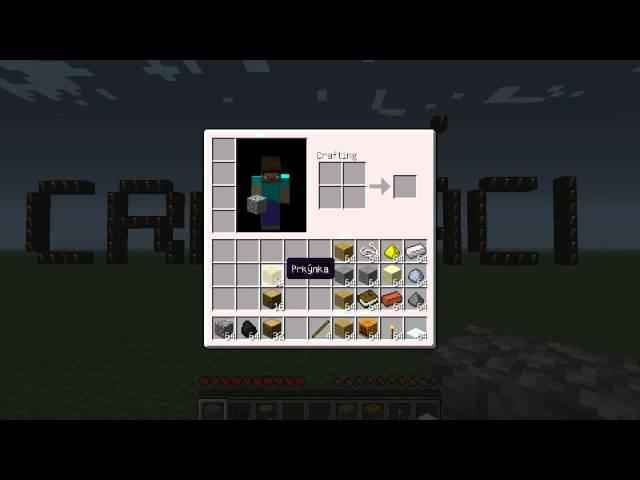 Minecraft Crafáci Jak se co craftí? S01 E01 Základní věci