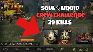 29 KILLS DOMINATING CREW CHALLENGE - PUBGM