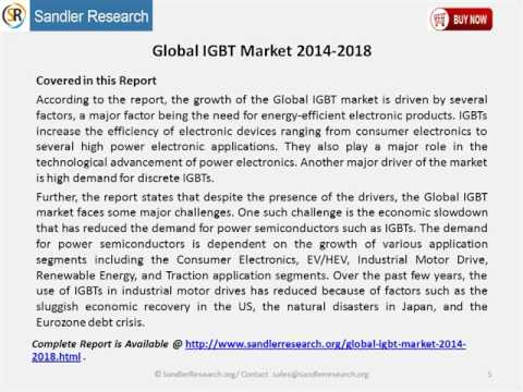 Global IGBT Market 2014 2018