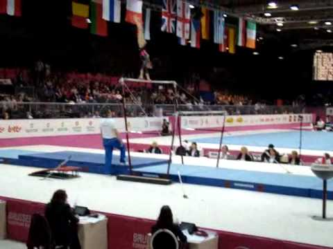 Raluca HAIDU ROU, Bars Senior Qualification, European Gymnastics Championships 2012