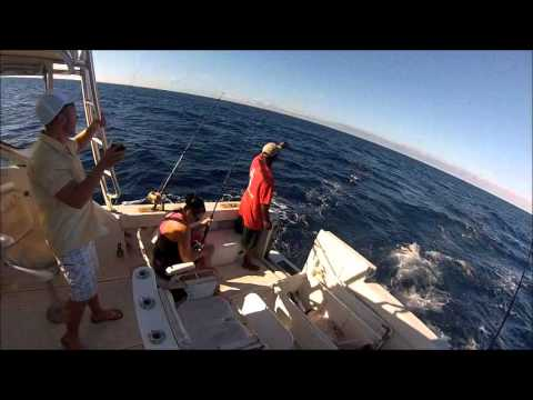 Denise: Wahoo Fishing, Nassau, Bahamas