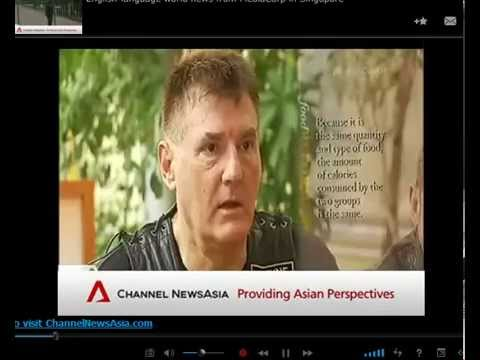 Charlie Brown Cafe Singapore Channel News Asia