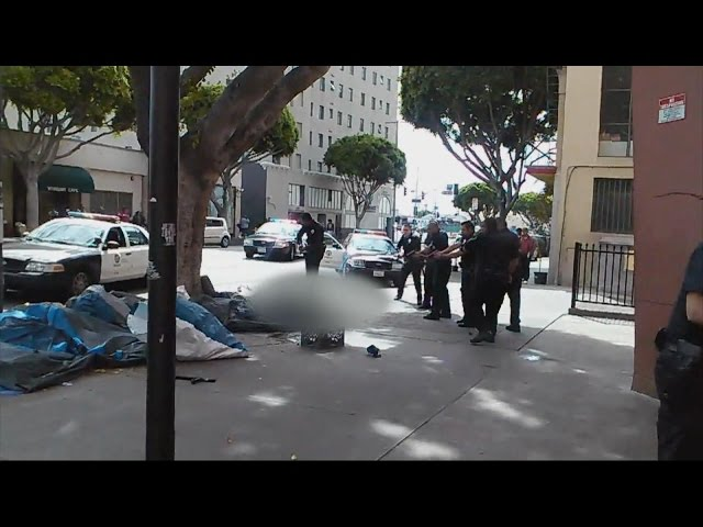 Video Captures Deadly Police Shooting on Skid Row in Los Angeles