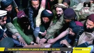 New Video Shows Ex Taliban Members Joining ISIS, Beheading Man; Paki-Punjabi ISI New Game