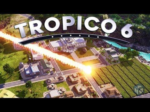 Tropico 6 - Метеоритный дождь и ТОЛПЫ беженцев! #3