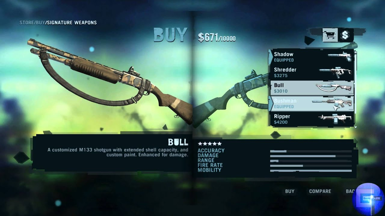 Far Cry 3 Weapons Mod Far Cry 3 All Signature