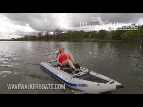 WaveWalker® Boats - The World's Fastest Pedal Powered Boats