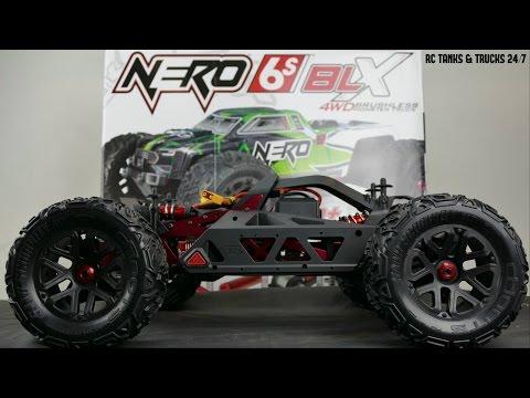 ARRMA NERO BLX 1/8 BRUSHLESS 6S 4WD MONSTER TRUCK