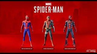 SPIDER MAN PS4 ! LES COSTUMES DU DLC #3 !