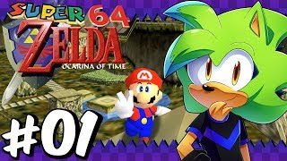 Super Mario 64: Ocarina of Time (100%) | Part 1 | SM64 Rom Hack