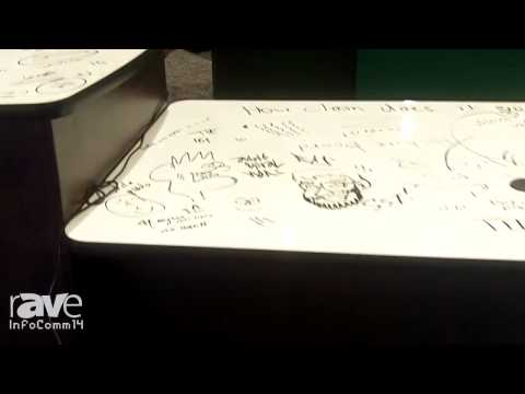 InfoComm 2014: AvinED Introduces its Collaborative ADA Desk with Whiteboard Top
