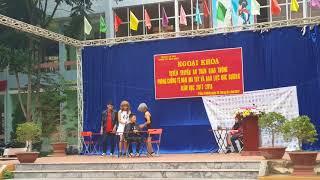 Ngoại khóa tuyên truyền phòng chống tệ nạn Ma túy. Trường THPT Trùng Khánh. Khối 11