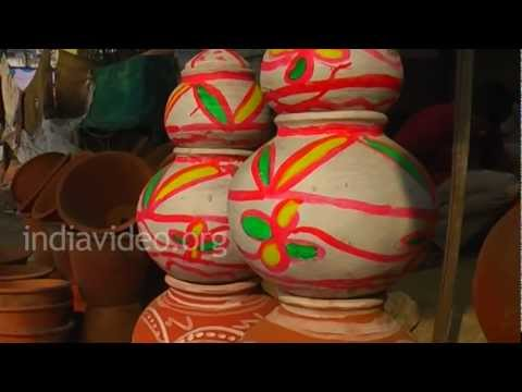 Shopping of Terracotta artifacts, Ajmer