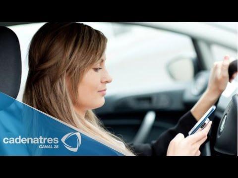 El peligro de usar teléfono celular al conducir en Semanal 28 15/06/15