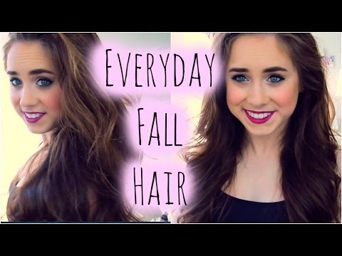 Everyday Fall Hair Routine.