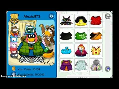 Free Rare Club Penguin Member Account 2012