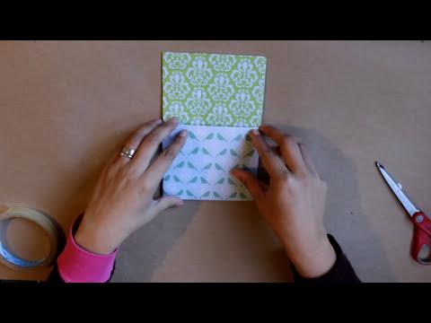 Estuche Porta lapices y notas // Reutiliza caja de DVD