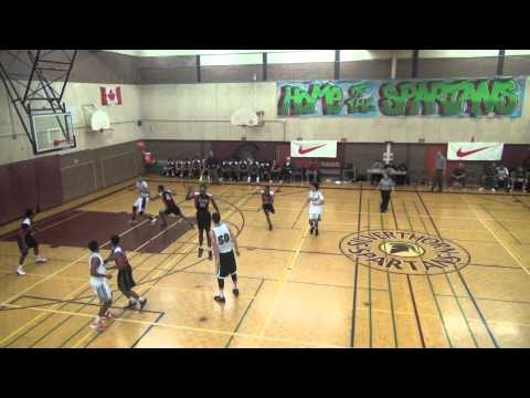 Crescent School Silverthorn Tournament Highlights - 11/15/2012
