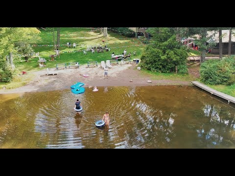 DJI Spark - Pine Grove Cottages, Beach Lake, PA