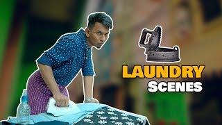 Funny Laundry Scenes | Hyderabadi Comedy | Warangal Diaries
