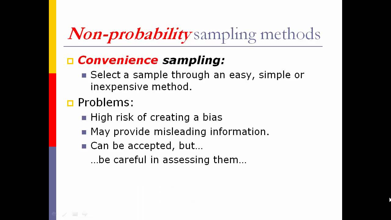 types of sampling techniques in statistics pdf
