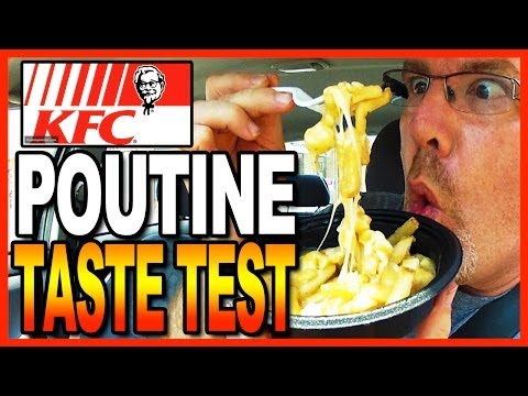KFC Poutine Taste Test/Review