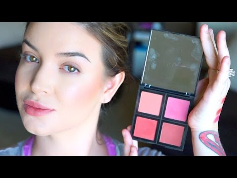 How to apply blush + E.l.f Blush palette review ♡