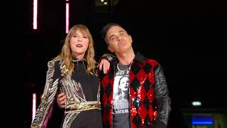 Taylor Swift Robbie Williams Angels Live