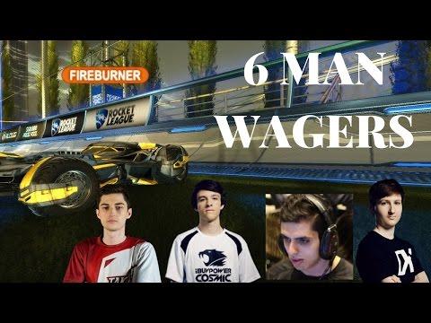 Rocket league wager match | Kronovi, Rizzo, Moses, Sizz, CorruptedG