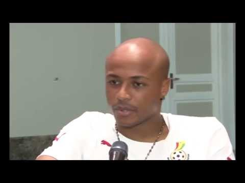 Interview: André Ayew speaks to Gary Al-Smith #afcon2015