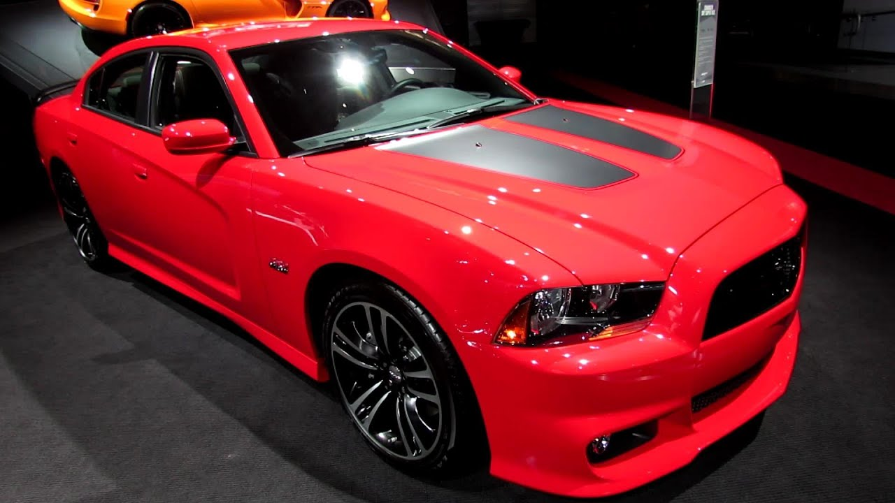 2013 Dodge Charger Srt Super Bee Exterior And Interior
