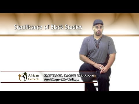 Episode 2 (Segment 1): Significance of Black Studies