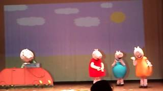 Peppa pig no teatro do Ciee VI