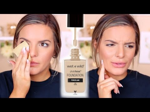 WET N WILD Photo Focus Foundation Review & Wear Test   Casey Holmes