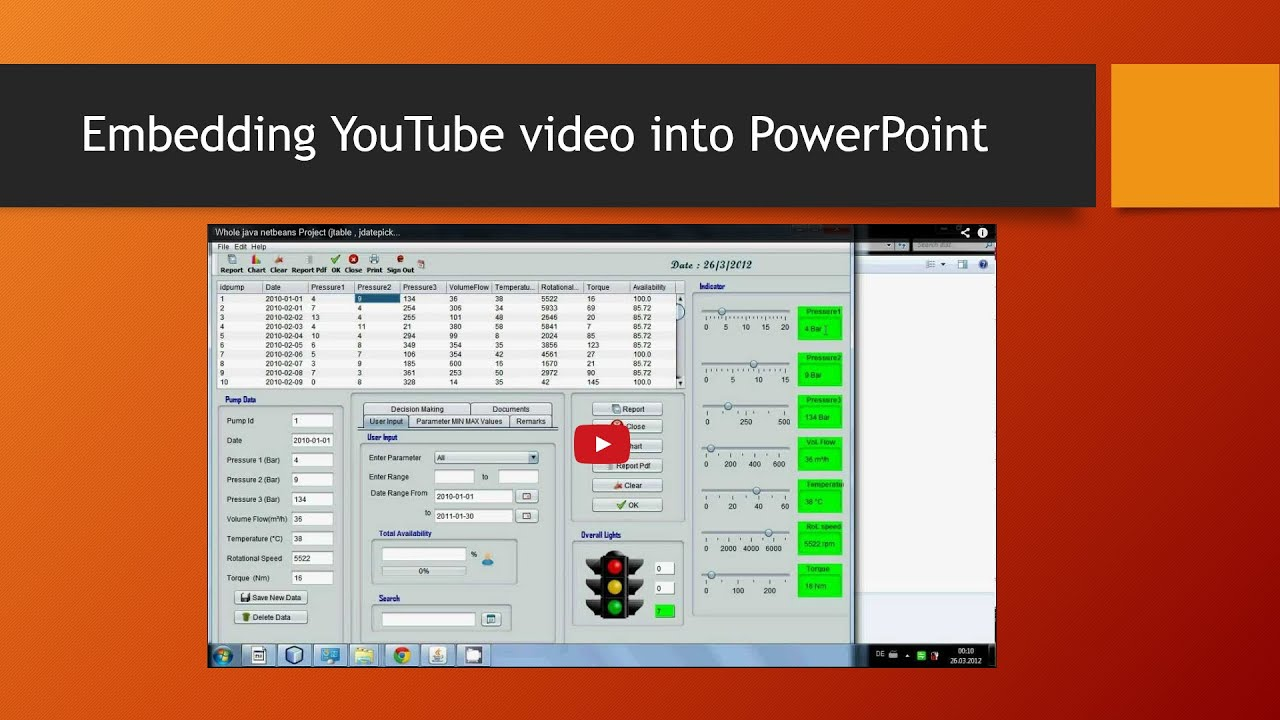 Embedding YouTube video into PowerPoint 2013 - YouTube