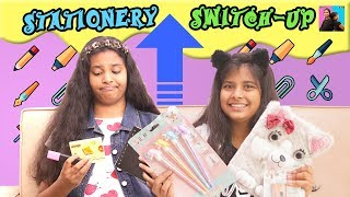 MYSTERY Box SWITCH-UP Challenge - Back To School l Ayu And Anu Twin Sisters