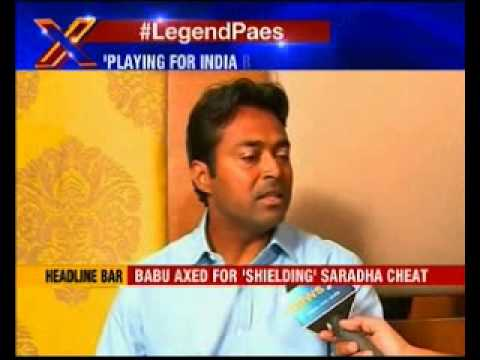 NewsX Exclusive interview with Leander Paes