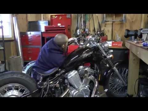 Complete Honda Shadow Bobber Build