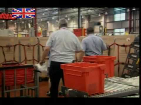 How the UK Postal Service (Royal Mail) Operates