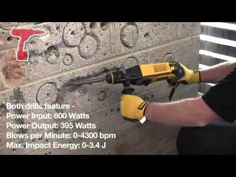 DeWalt D25123K & D25124K Hammer Drills