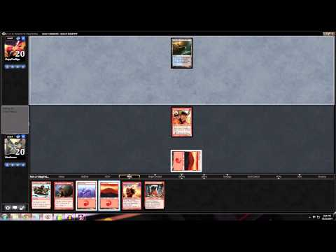 Magic Stronghold: Standard Mono Red Aggro - Match 3